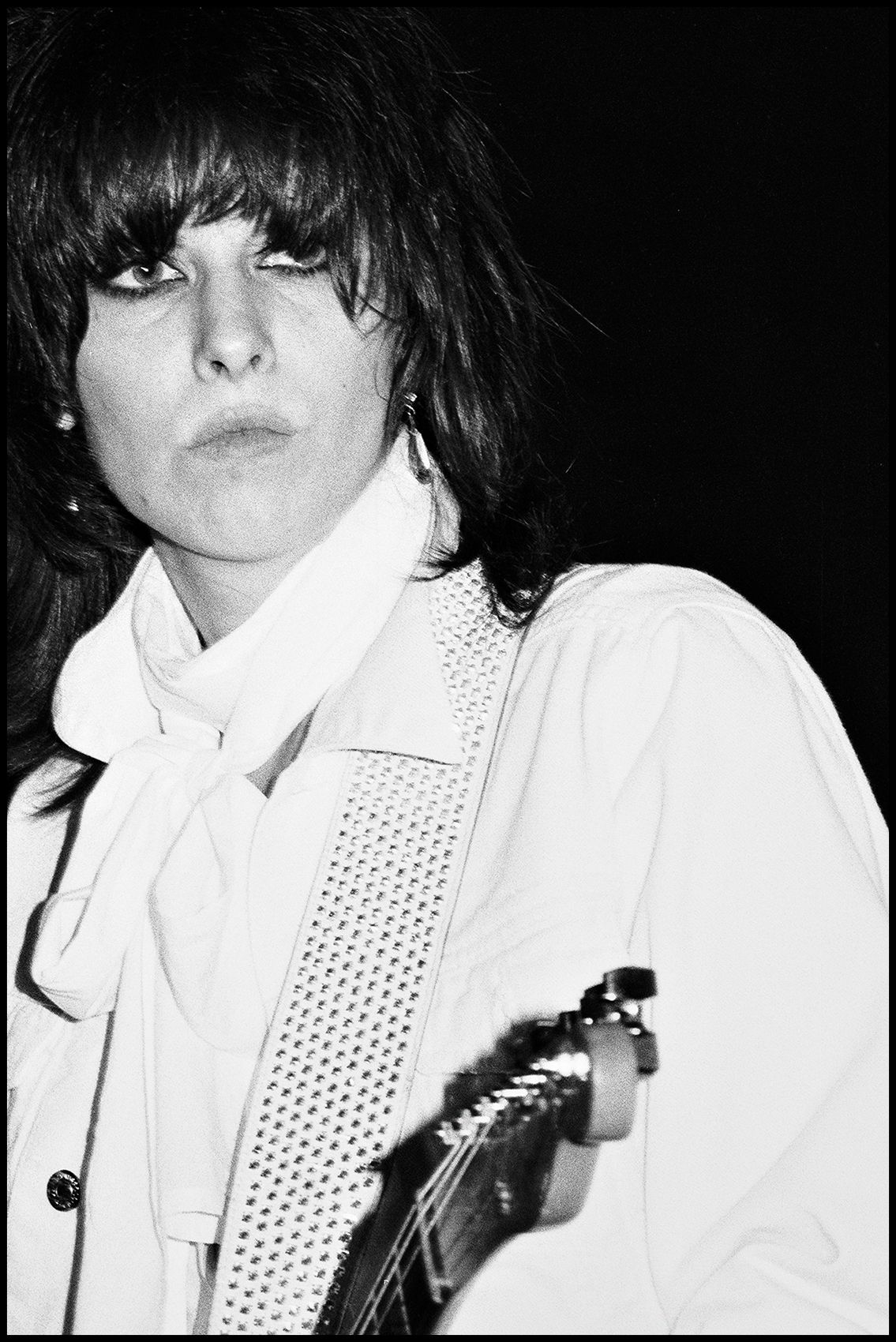 Chrissie Hynde - The Pretenders, The Ritz, NYC 1980
