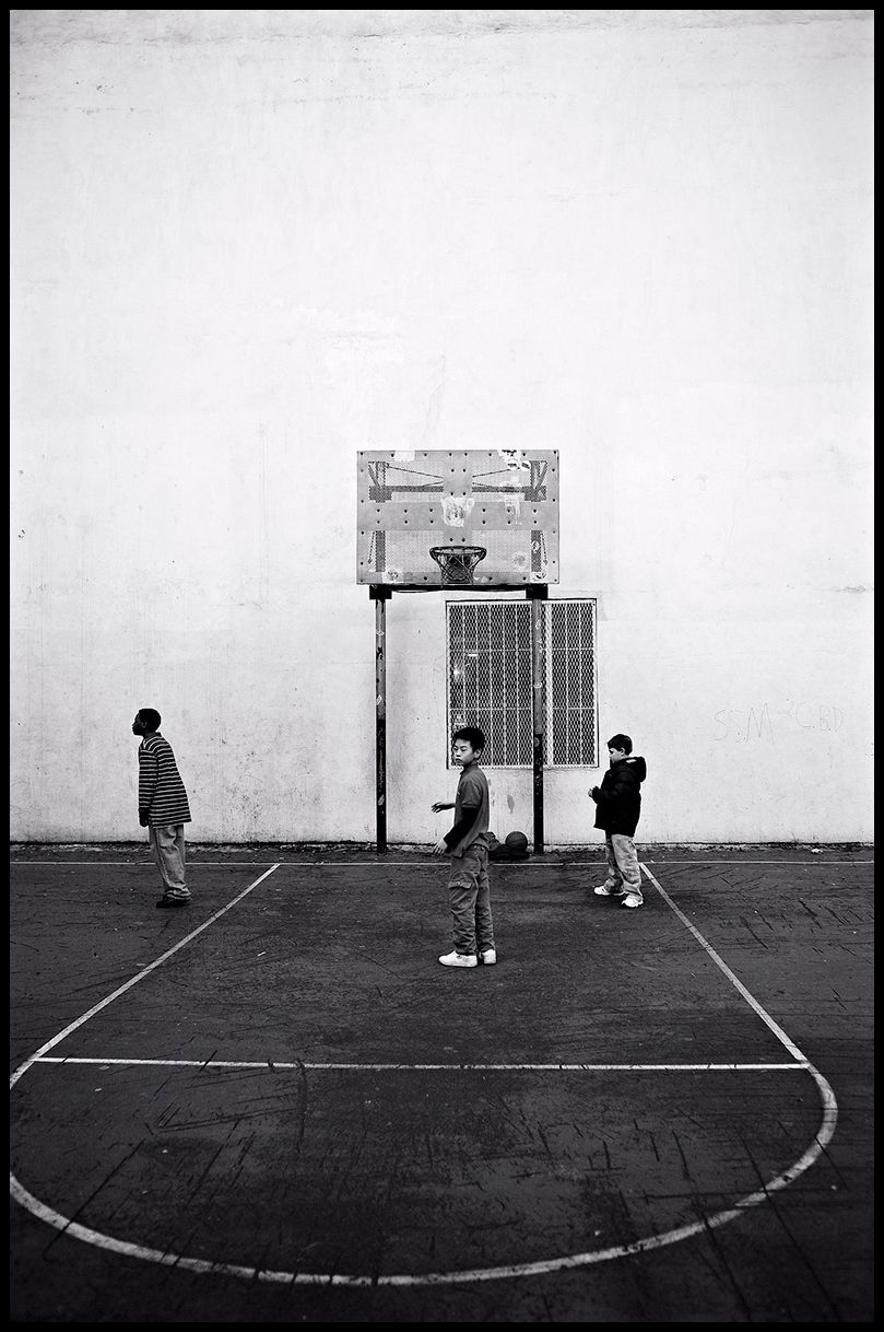 Basketball Court, Greenwich Village - NYC