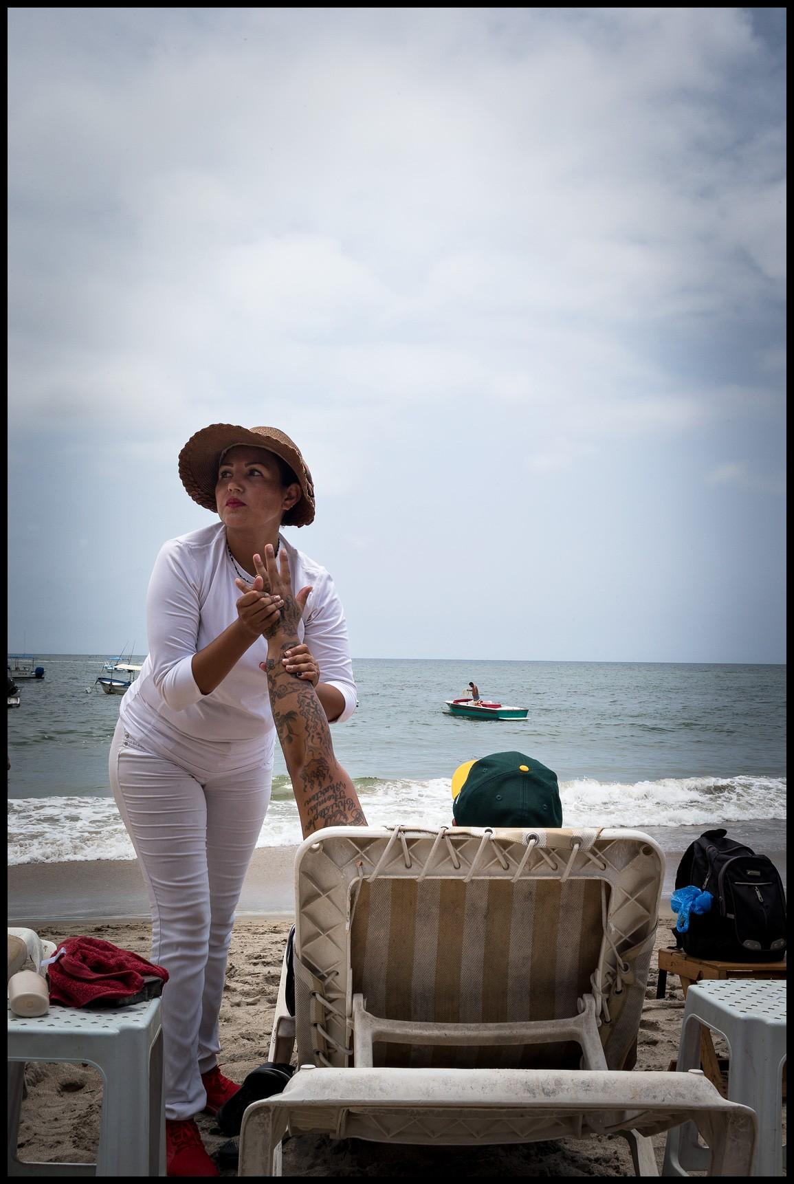 Beach Massage - Puerto Vallarta, Jalisco, Mexico