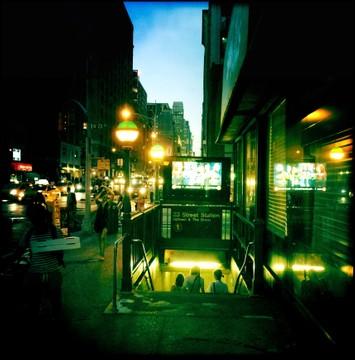 Subway - Chelsea, NYC - 06.22.2015