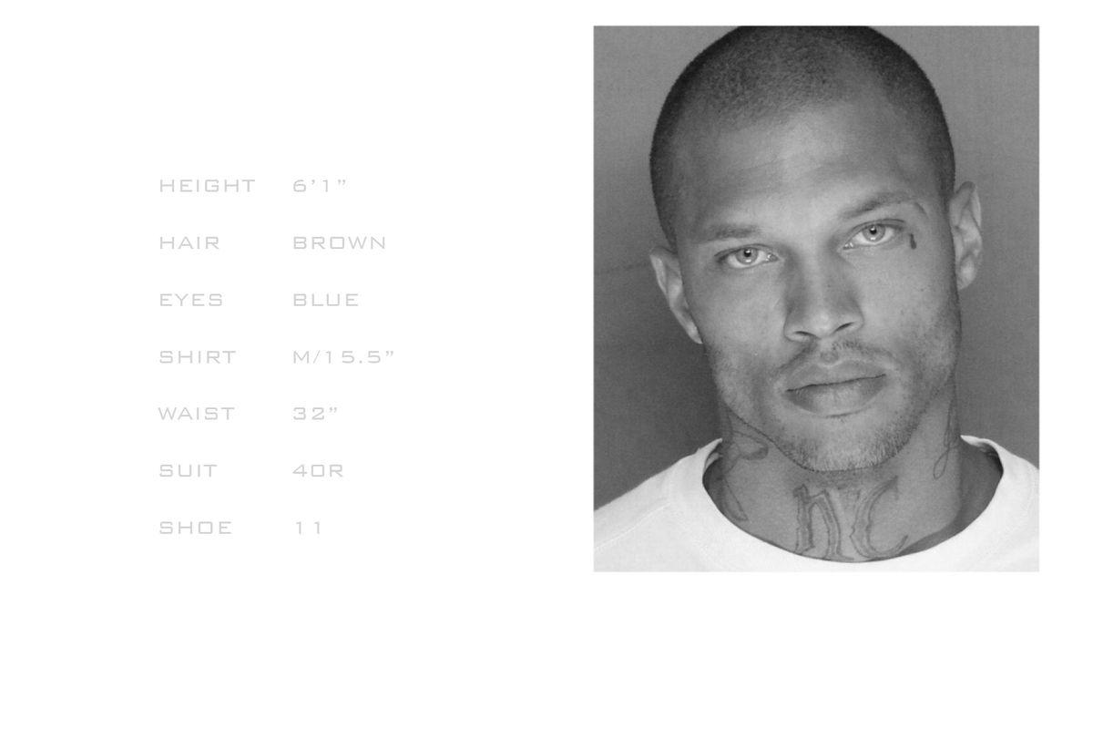 Model Jeremy Meeks Hot Felon