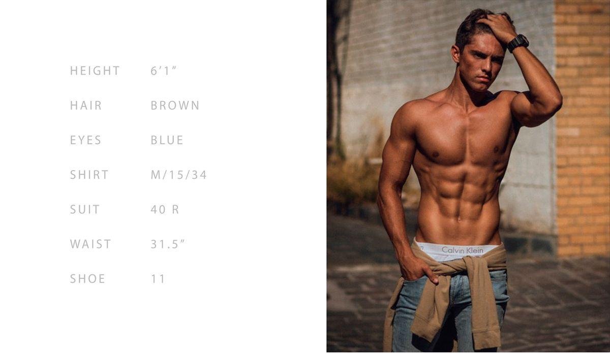 Model Brayden Dumbar
