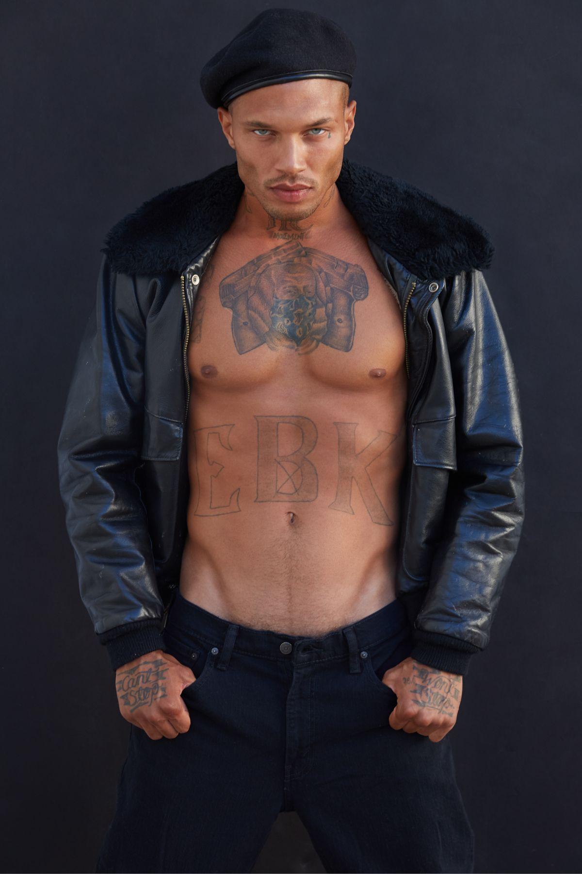 Model Jeremy Meeks