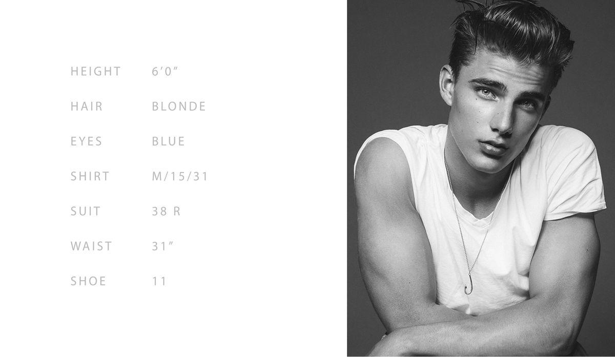 Model Matthew Pollock