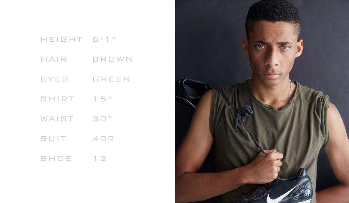 Model John Woods