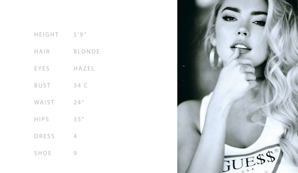 Fashion Model Blair Hiesl
