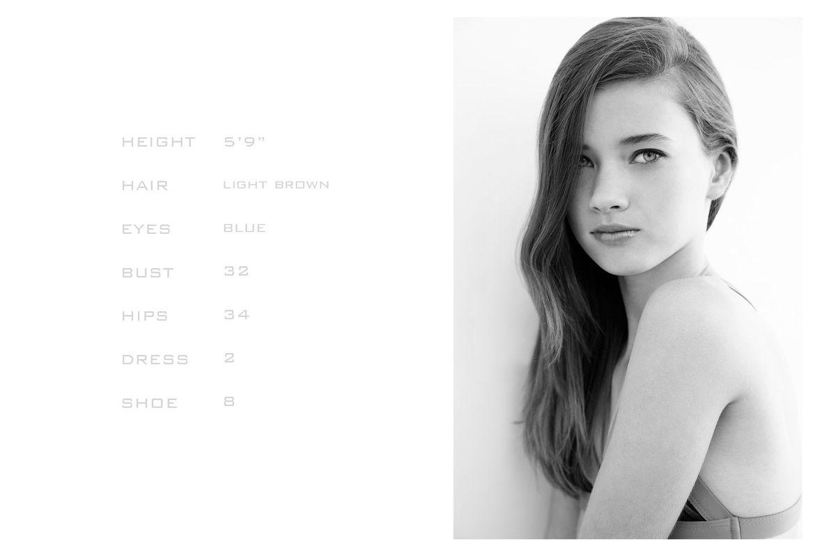 Model Brechje De Jonge