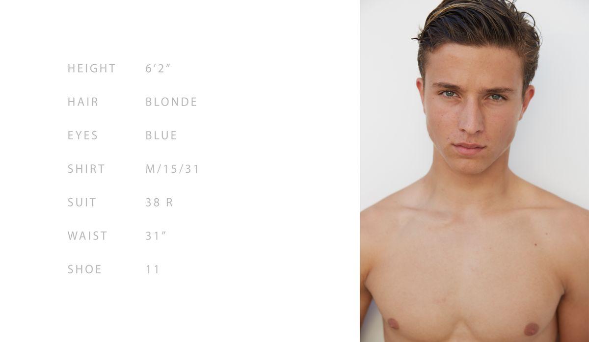 Model Jude Iredell