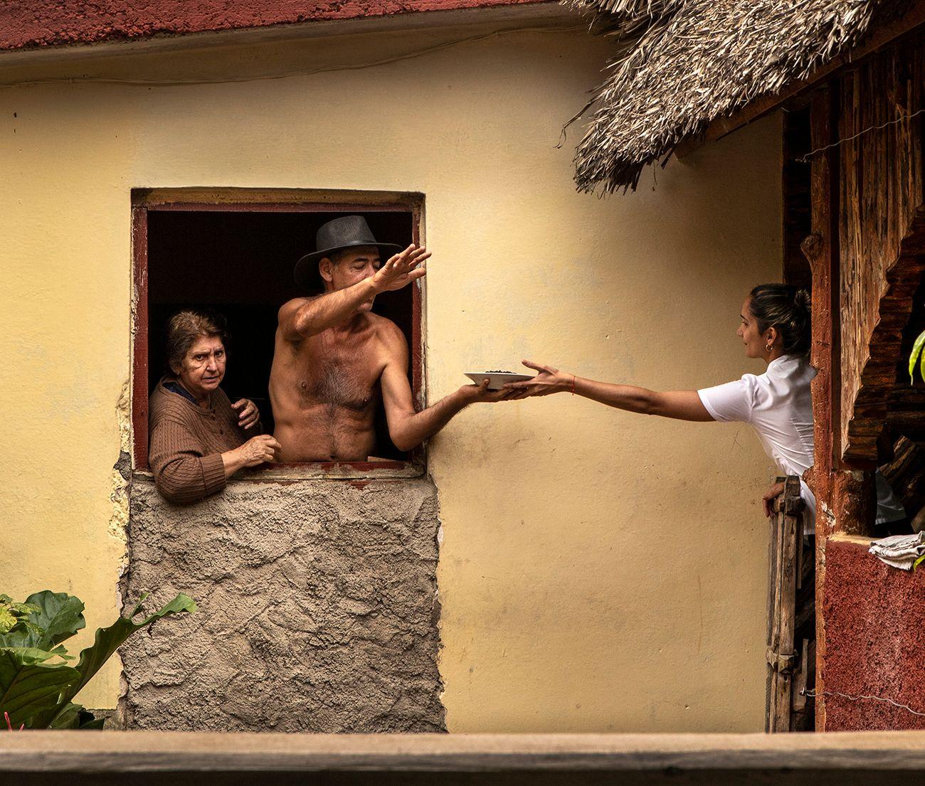Kitchen Ballet, Paladar La Rosita, Cuba .jpg
