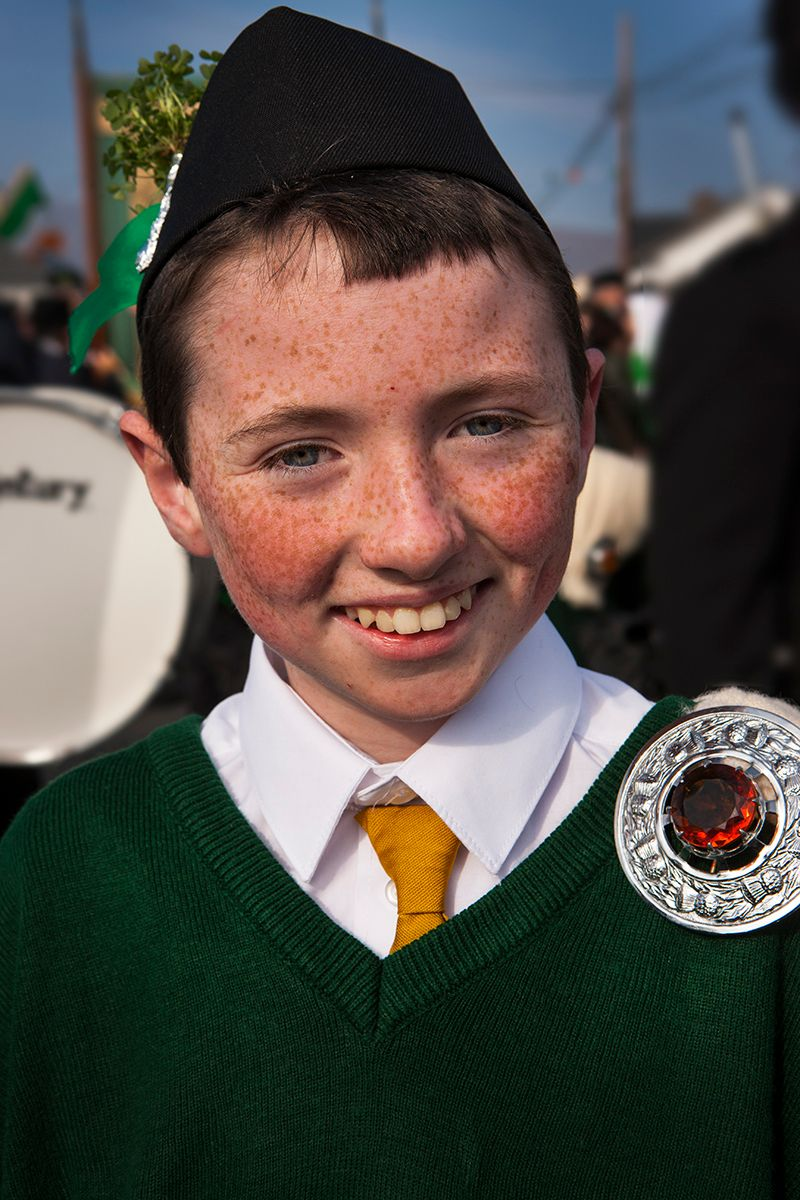 Happy Lad, Achill Island Ireland , Saint Patricks Day Parade