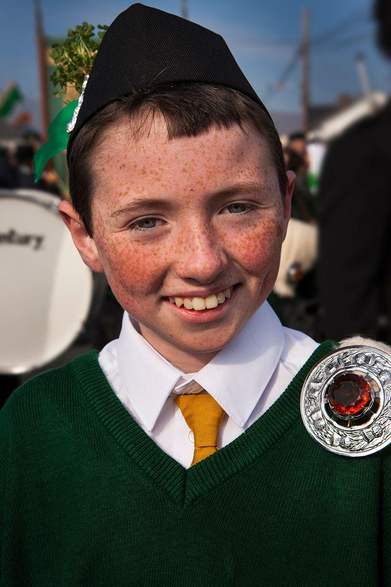 Happy Lad, Achill Island Ireland , Saint Patricks Day Parade