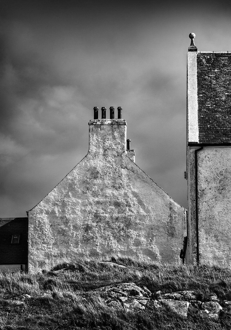Daiberigh Light, Outer Hebrides, Scotland