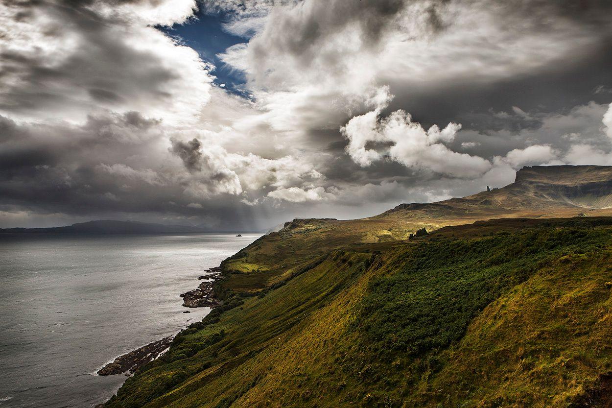 Changing Light, Isle of Skye, Scotland