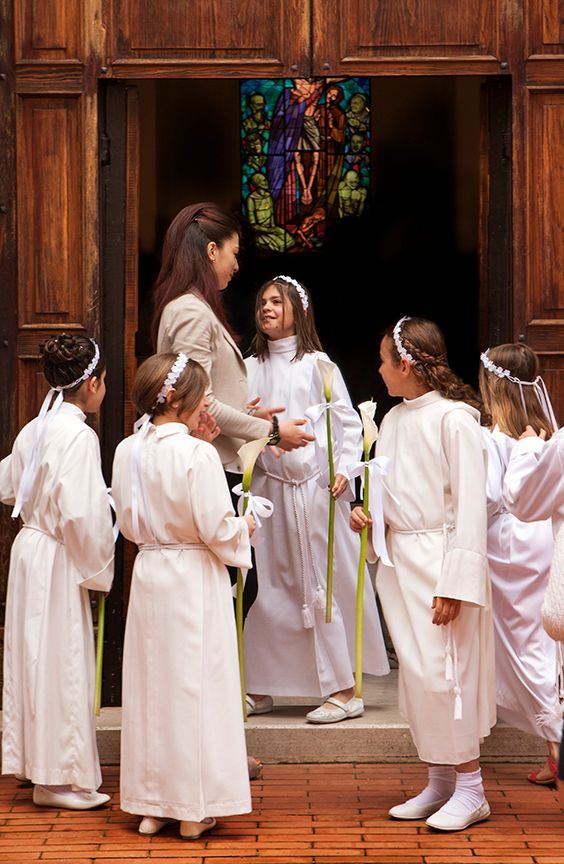 First Communion, Buonconvento Italy