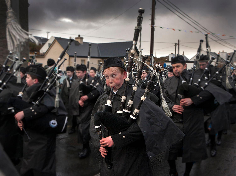 Big Cheeks, Achill Island Ireland Saint Patrick's Day Parade