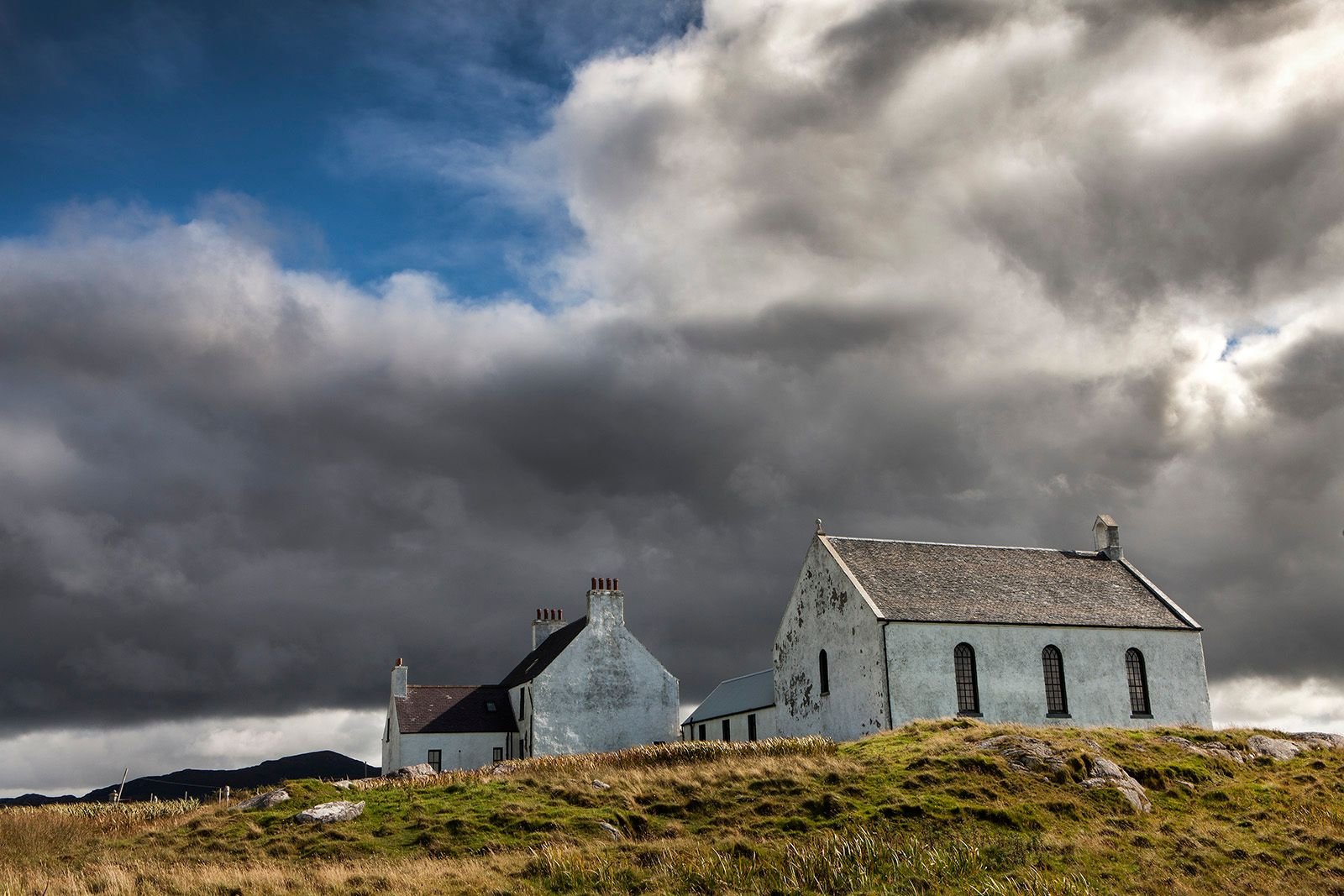 Church on the Hill, Dalberigh,Outer Hebrides, Scotland
