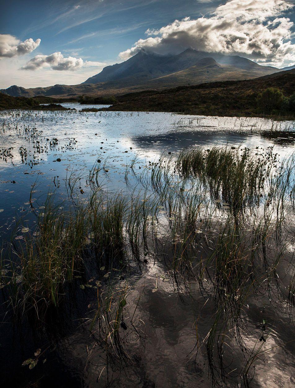 Loch Sligcahan Reflections, Isle of Skye, Scotland