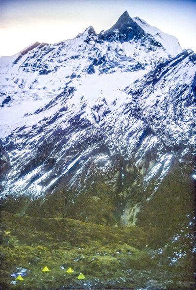 Mount Machapuchare, Nepal.