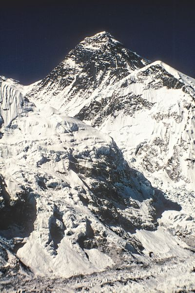 Called Sagarmatha by the Nepalese.