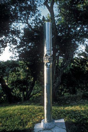 Stainless crush column.