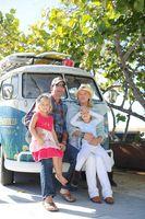 Vintage Pacifico VW Bus