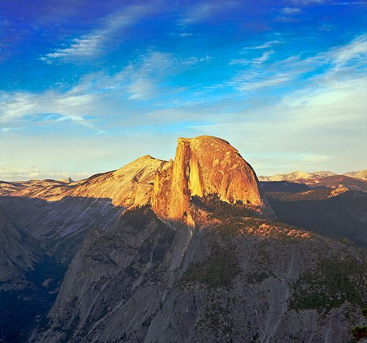 Summer Sunset on Half Dome