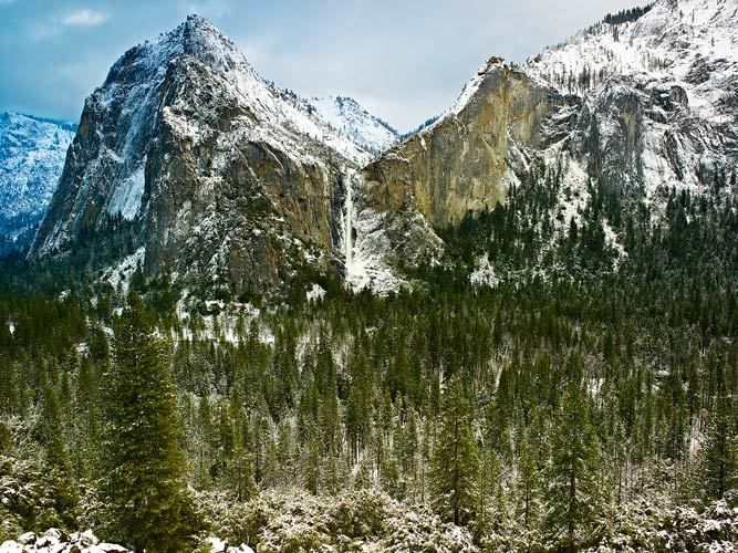 Bridalveil Winter