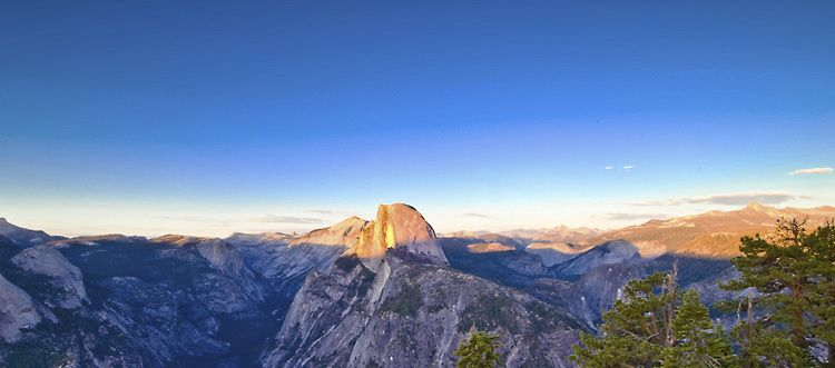 Golden Wall, Half Dome