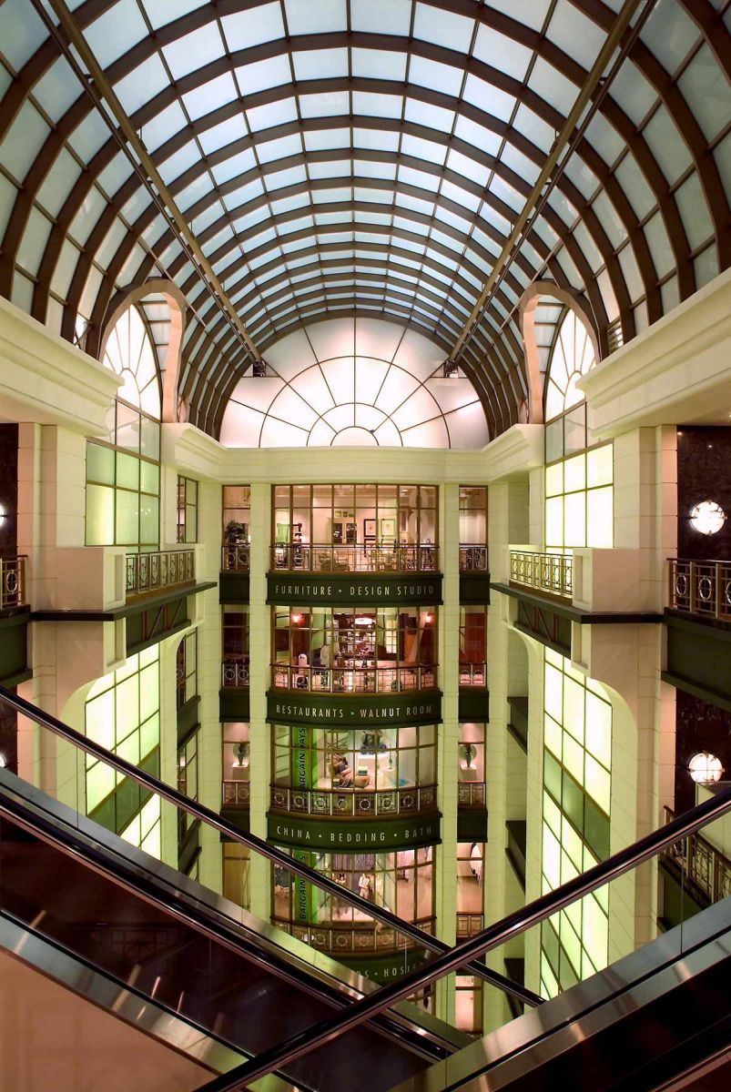 Atrium    Marshall Field, Chicago
