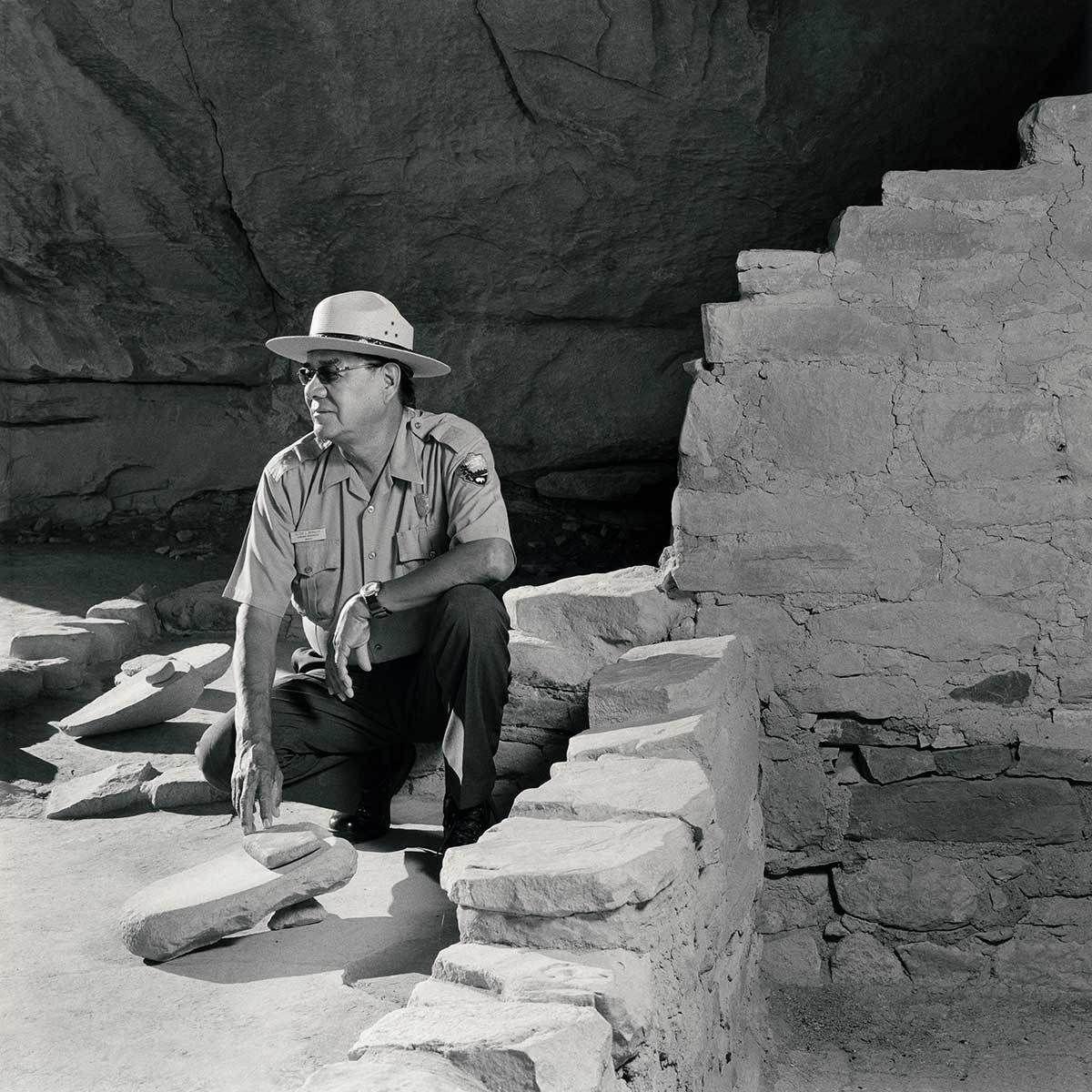 Clyde Benally, Park Ranger
