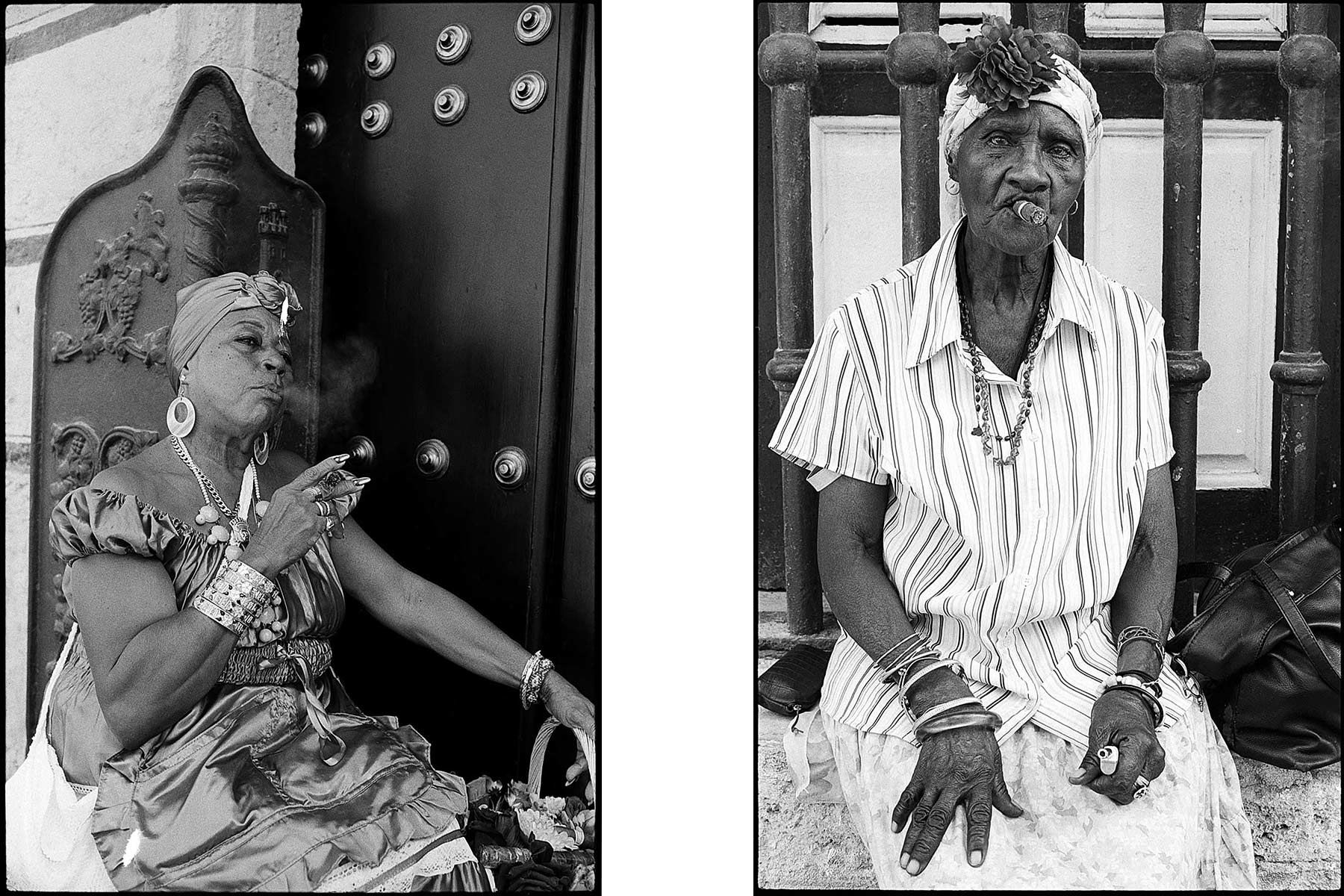 Havana street women