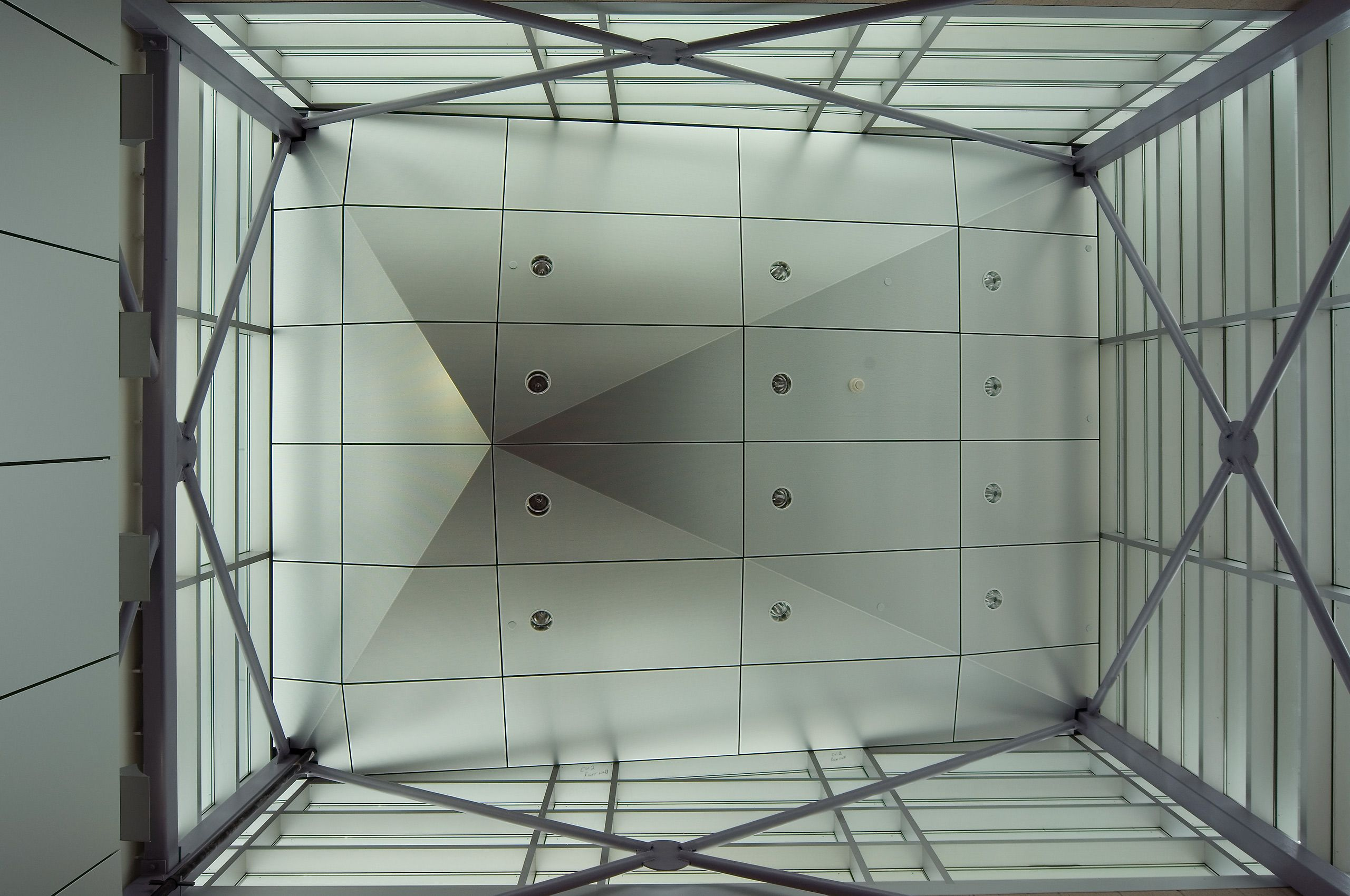 Athletic Building Ceiling, Tompkins Cortland Community College, Dryden, NY