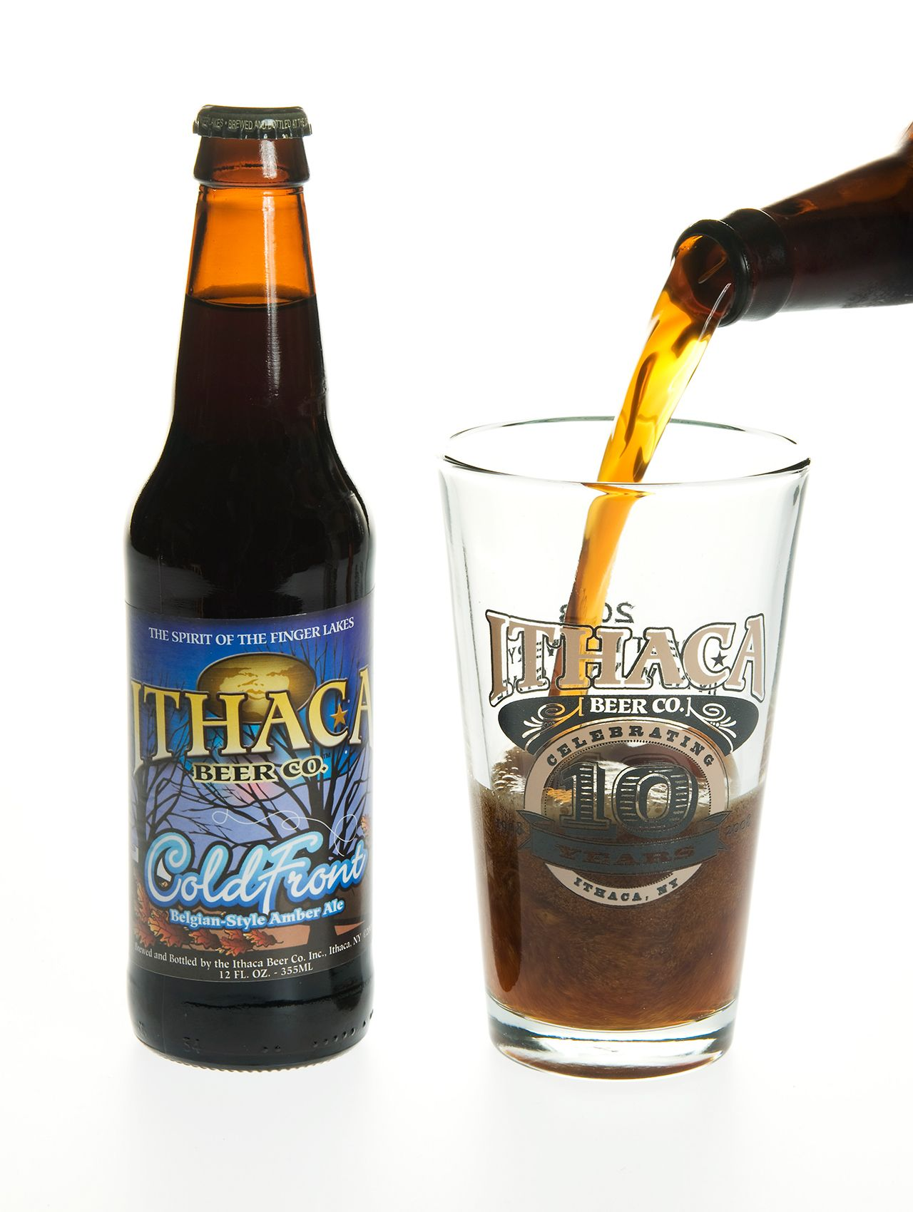 Cold Front by Ithaca Beer