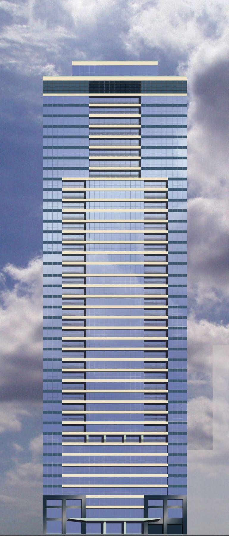Highrise Residential in Chicago's Loop, Unbuilt - Senior Designer DeStefano + Partners