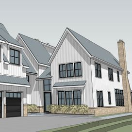 New Custom Home, Evanston, IL.  Design collaboration with GSD Companies, Evanston.