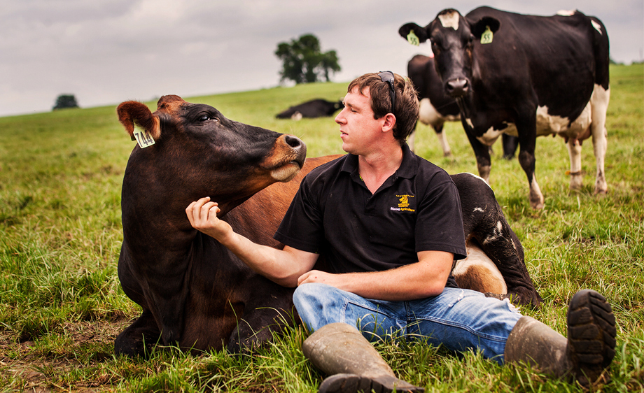 Aiden Cunningham - Dairy Farmer Nevada,Missouri