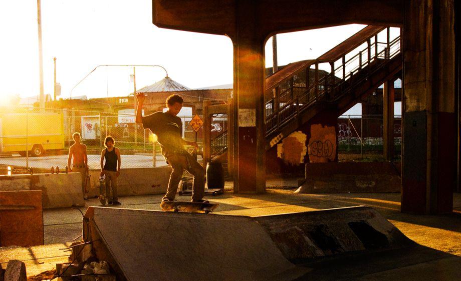 1Skateboarding