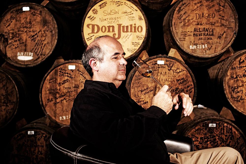 Portrait of Enrique de Colsa Don Julio's Master Distiller
