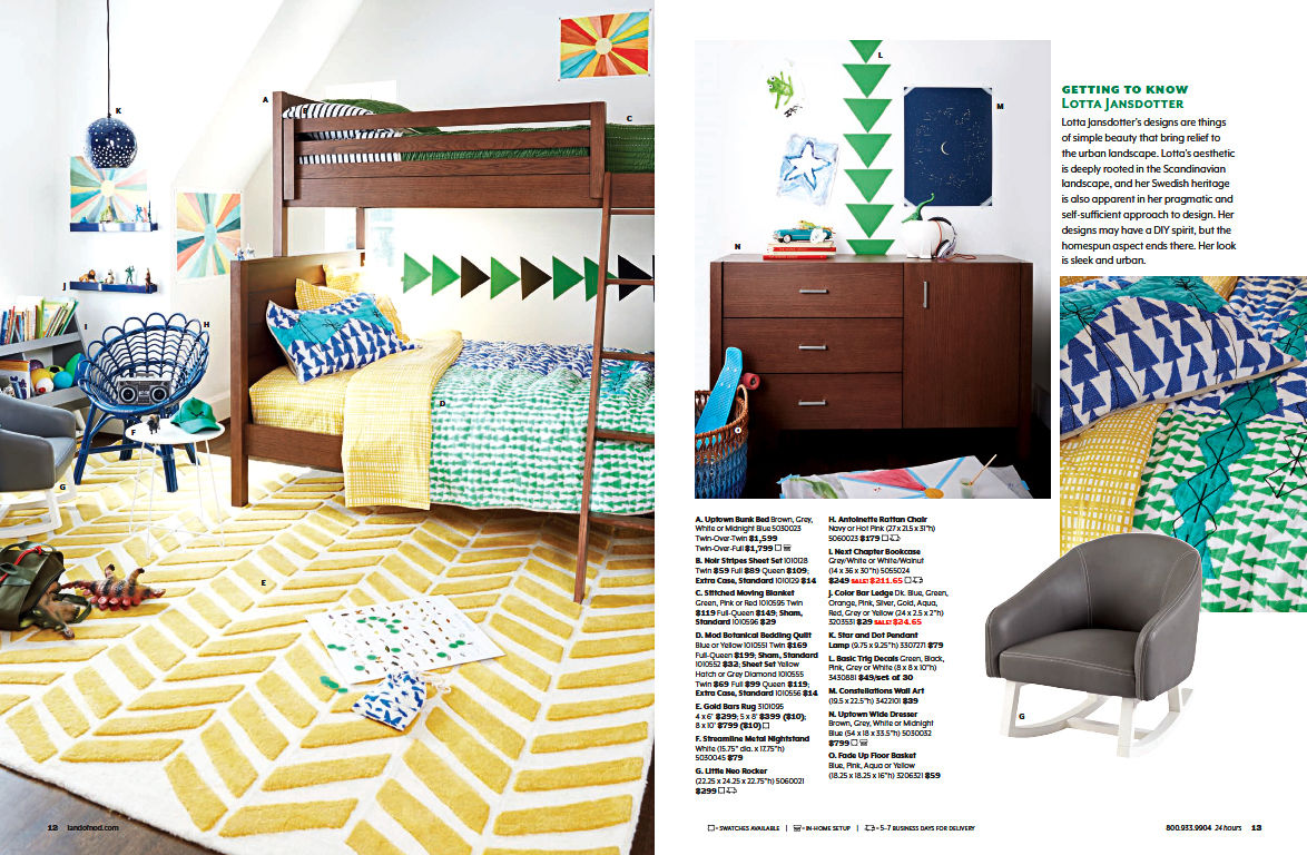 The Land of Nod / August 2015 Catalog