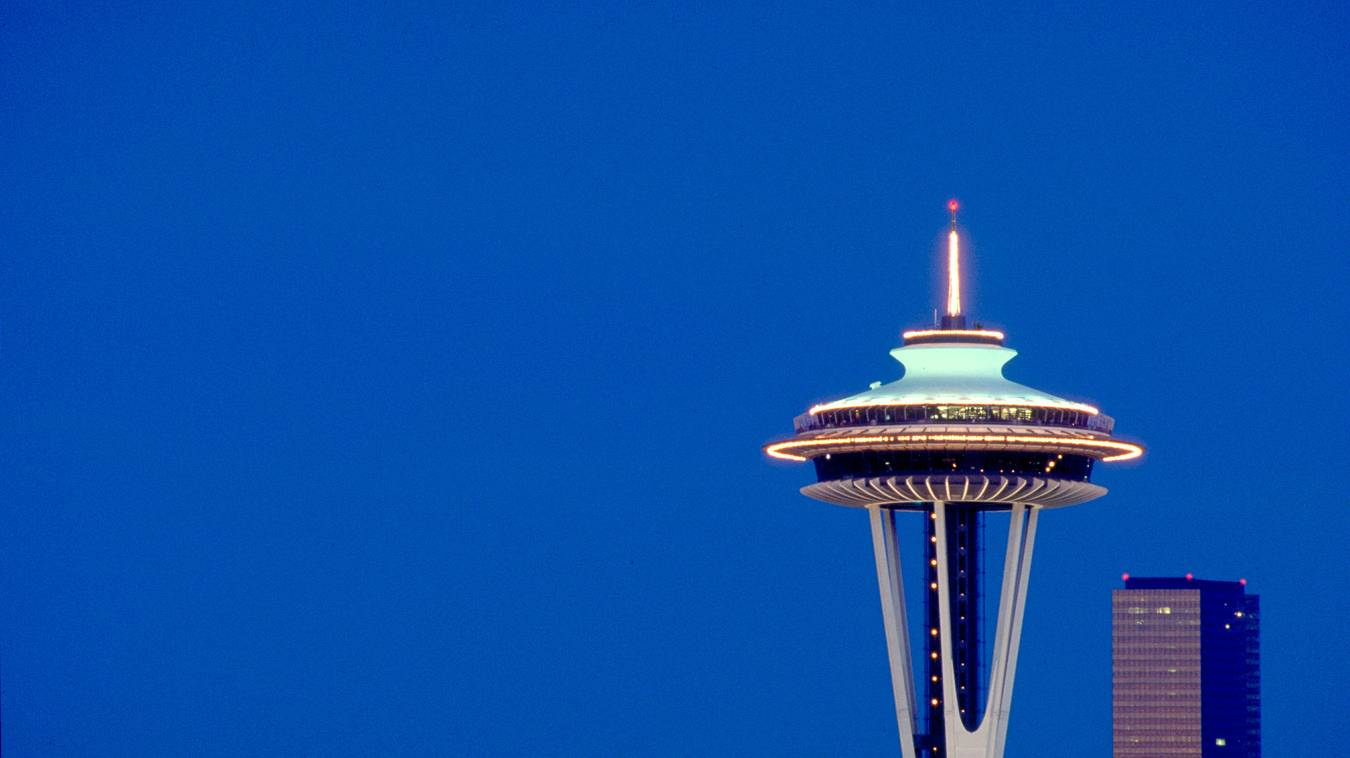 Seattle Space Needle. Seattle, WA.
