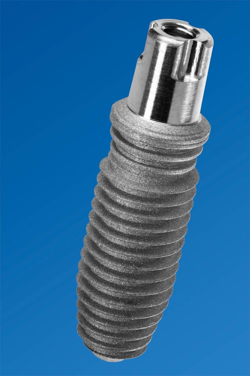 dental implant macro photograph