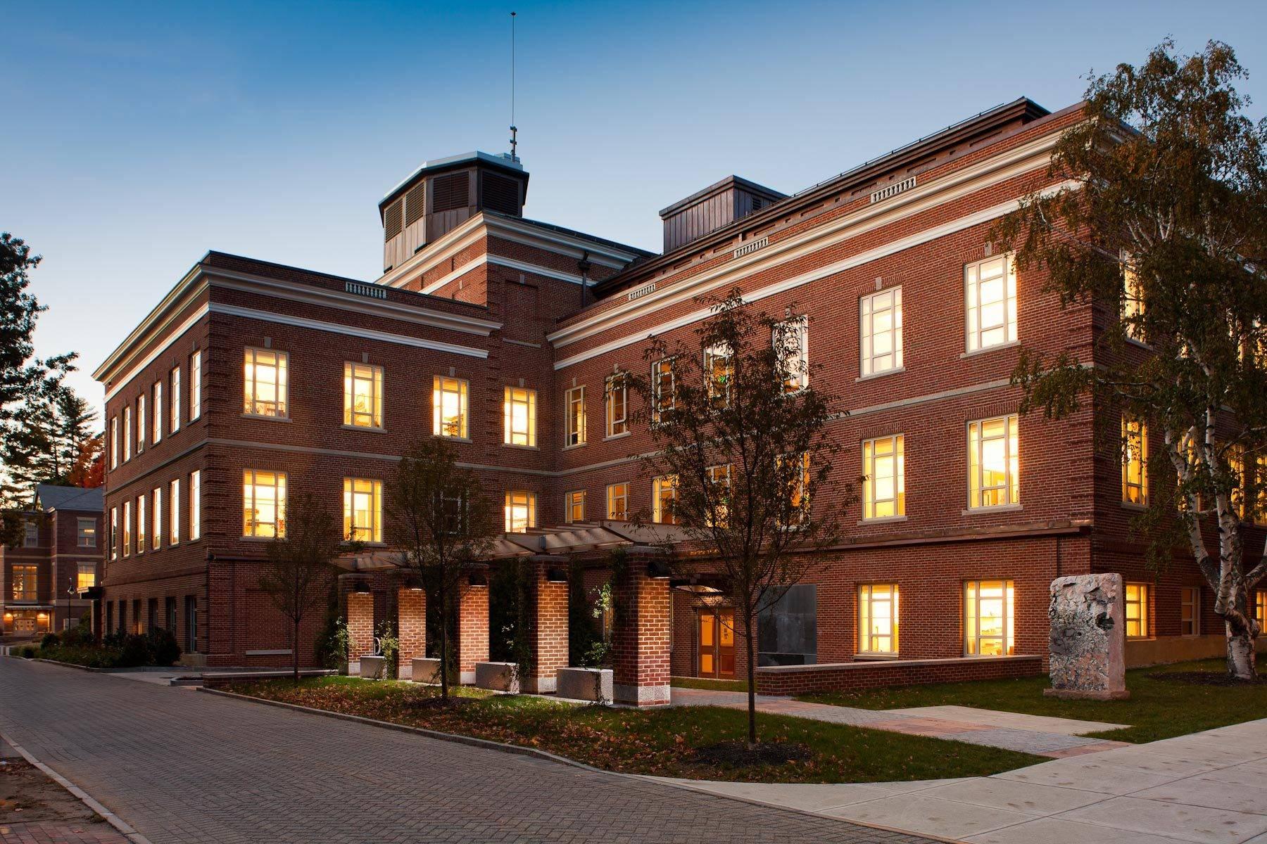 EYP Architects. James Hall at UNH. Durham, NH