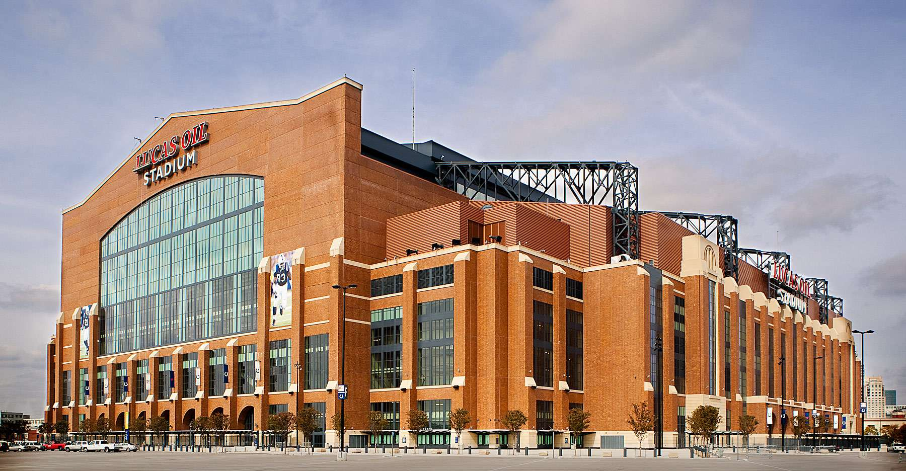 Viracon. Lucas Oil Stadium. Indianapolis, IN.