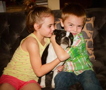 Liz & kiddos