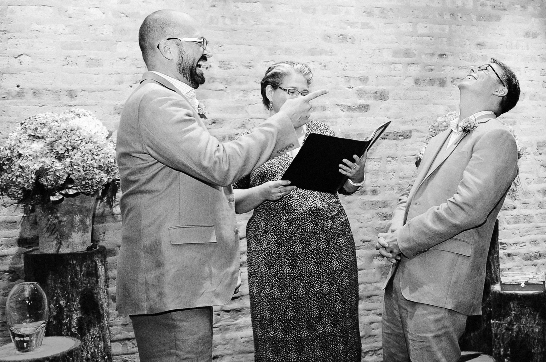 Same sex wedding photographer in Chicago