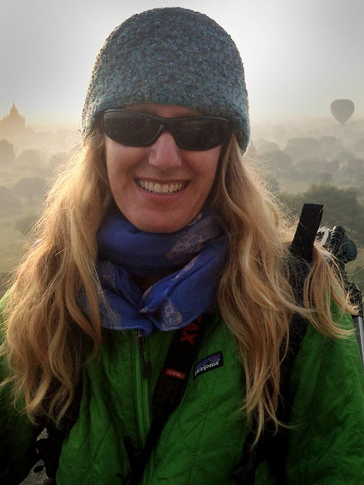 Rachel & the Temples of Bagan, Burma (Myanmar)