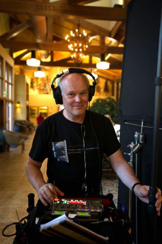Sound engineer Paul Andrew Lawrence