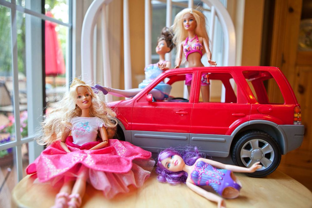 Broken Barbies