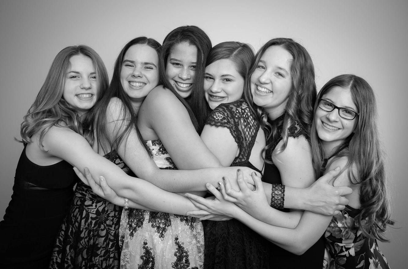 Bunch of teenage girls