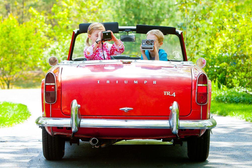 Camera Kids and Car